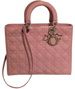 Dior Satchel in Light Pink