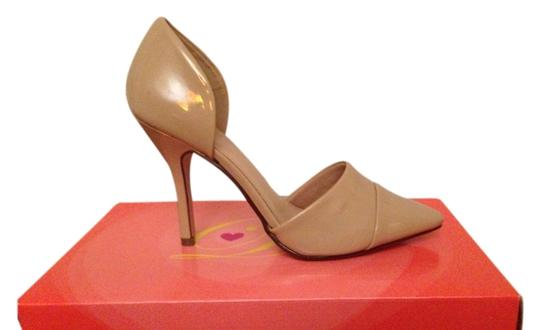 Delicious Patent D'orsay New In Box Nude Pumps