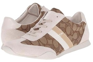 Coach Kelson Sneaker Khaki Khaki/Chalk/Signature Athletic