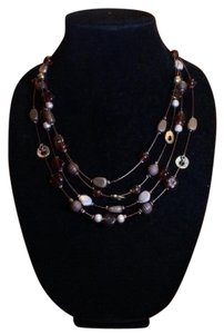 Other Stone & metal charm necklace