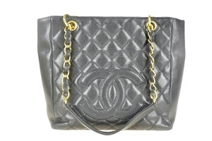 Chanel Caviar Pst Shoulder Bag