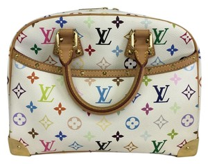 Louis Vuitton Lv Trouville White Tote in Multicolor