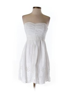My Michelle short dress white Eyelet Graduation Wedding Confirmation Easter on Tradesy