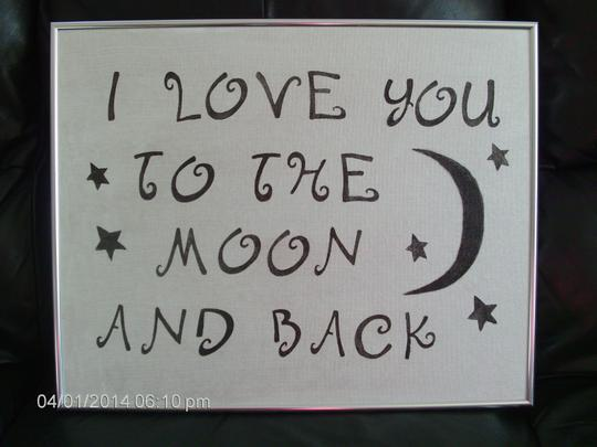 Preload https://item3.tradesy.com/images/silver-with-black-lettering-love-you-to-the-moon-and-plaque-reception-decoration-2013062-0-0.jpg?width=440&height=440