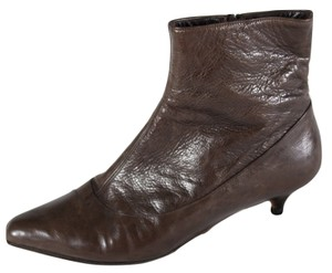 Marni 39 Ankle Chocolate Llr Boots