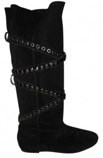 Preload https://item3.tradesy.com/images/aldo-black-studded-strap-suede-bootsbooties-size-us-7-201307-0-0.jpg?width=440&height=440