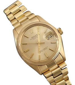 Rolex 1972 Rolex Oyster Perpetual Date Mens Watch, Champagne Dial