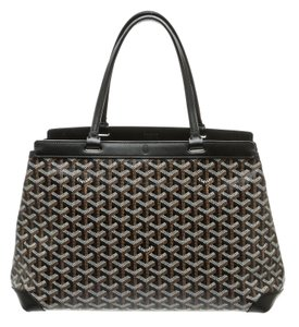 Goyard Satchel in Black/Multicolor