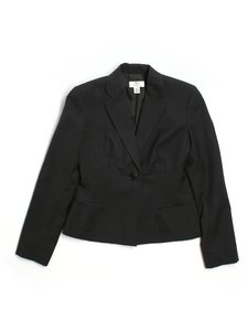 Ann Taylor LOFT Work Interview Casual School Church black Blazer