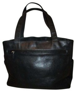 Fossil Leather Vintage Tote in black