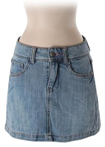 SO Junior Jean School Casual Mini Skirt blue
