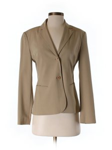The Limited Interview Work School Office Casual tan Blazer