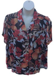 Alfred Dunner Top Multicolor