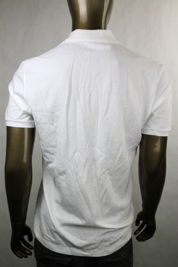 Gucci White New Men's Slim Fit Embroidered Horse Polo Top 3xl 338567 9000 Shirt Image 4