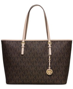 Michael Kors Tote in Brown Logo