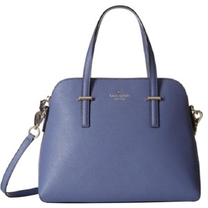 Kate Spade Cedar Maise Satchel in Oyster Blue