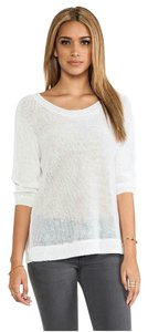 360 Sweater Linen Crew Neck Sheer Sweater