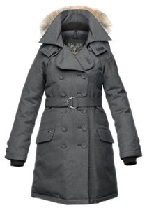 Nobis Down Trench Fur Warm Coat