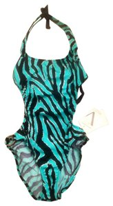 VENUS Tiger Stripe Metallic One-Piece Swimsuit
