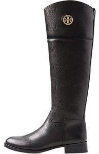 Tory Burch Booth Brown Black Boots
