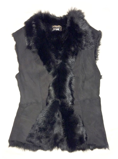Toscana Shearling Lamb Sheepskin Leather Vest Image 1