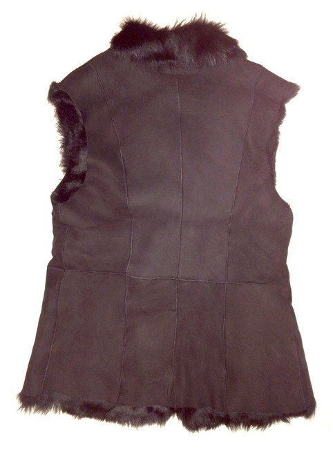 Toscana Shearling Lamb Sheepskin Leather Vest Image 2