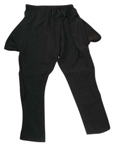 Artists & Revolutionaries Harem Silk Silk Harem Trouser Pants Black
