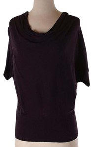Ann Taylor LOFT Top Dark purple