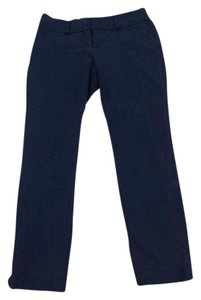 Banana Republic Work Attire Ankle Versatile Fun Timeless Straight Pants Navy Blue