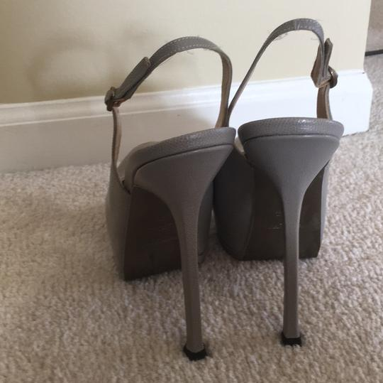 Saint Laurent Grey Platforms Image 4
