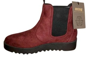 MTNG burgundy Boots