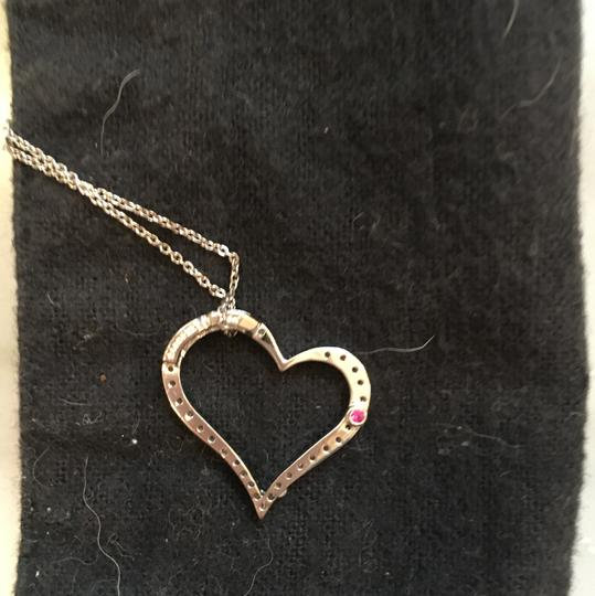 Roberto Coin Pave Heart Necklace Image 1