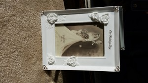 Our Wedding Day Picture Frame