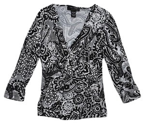 Cable & Gauge Top Paisley print