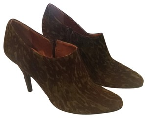 Bettye Muller Green and brown Boots