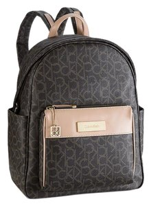 Calvin Klein Brown Travel Womens Backpack