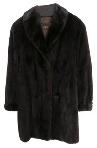 D Kindy & Sons Furriers Fur. Vintage Mink Fur Coat