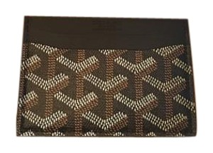 Goyard Classic Saint Sulpice Card Holder Wallet Black
