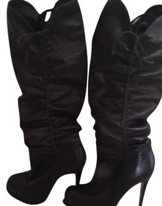 Brian Atwood Dark brown Boots