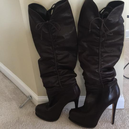 Brian Atwood Dark brown Boots Image 1