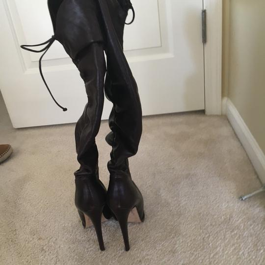 Brian Atwood Dark brown Boots Image 4