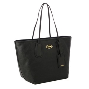 Coach Taxi Leather 33581 Tote in BLACK