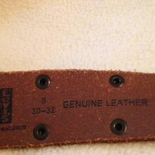 Levi's brown leather Belt Levis Brown Leather Image 3