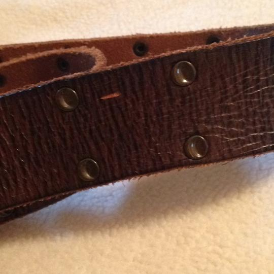 Levi's brown leather Belt Levis Brown Leather Image 4