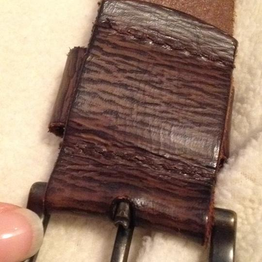 Levi's brown leather Belt Levis Brown Leather Image 7