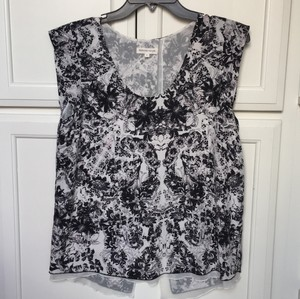Rebecca Taylor Top Black and white