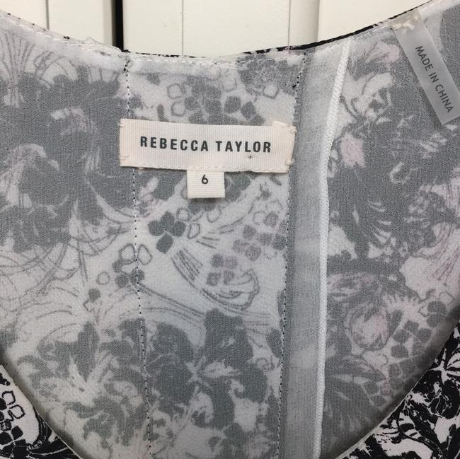 Rebecca Taylor Top Black and white Image 1