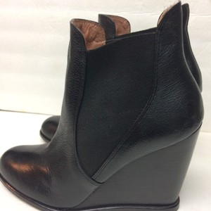 Corso Como Black leather boots Friday Sale Boots