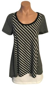 Carolyn Taylor Top Black, Gray