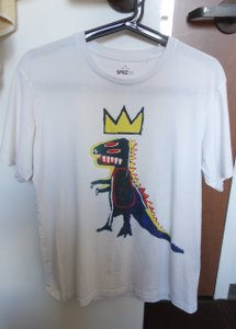 Uniqlo Basquiat Graphic T T Shirt White